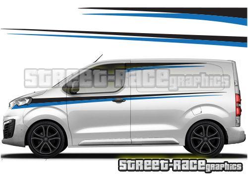 Peugeot Expert Van Graphics Peugeot Car Graphics Racing Stripes