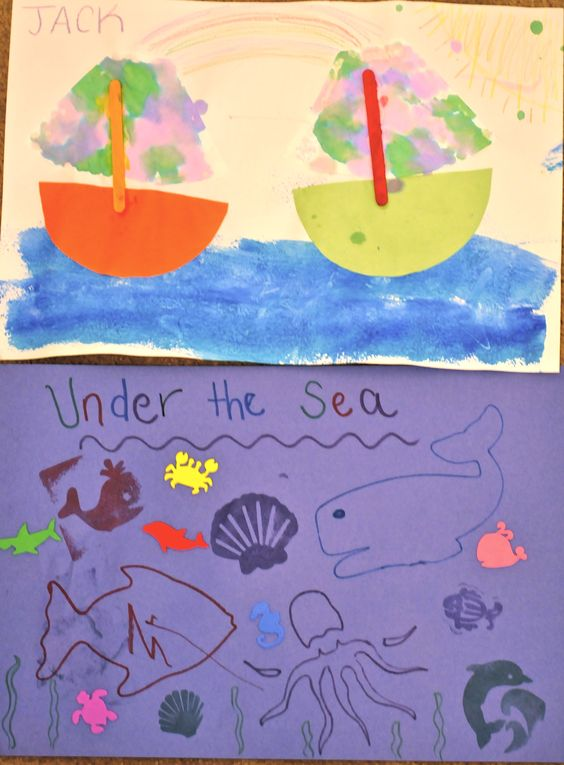 preschool under the sea theme above the sea amp the sea project summer theme 983