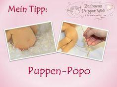 Barbaras Blumenkinder und Puppen Welt: Mein Tipp: Puppen-Popo