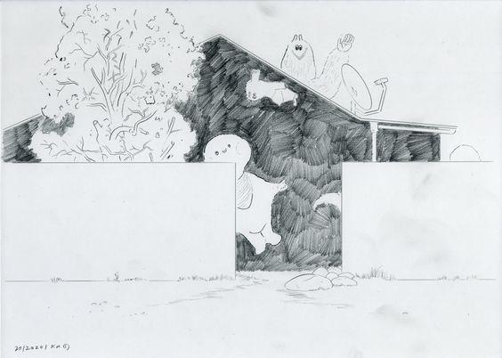 Drawing by Kenichiro Mizuno