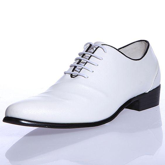 PINTREST MENS WHITE DRESS SHOES | New Fashion Styles: Stylish Wedding Shoes For Men 2013