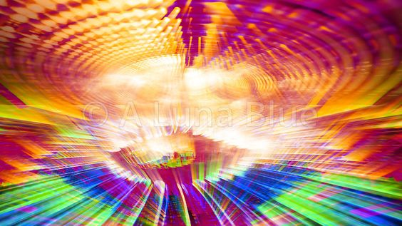 Streaming Data Abstraction Stock Photo: 10877