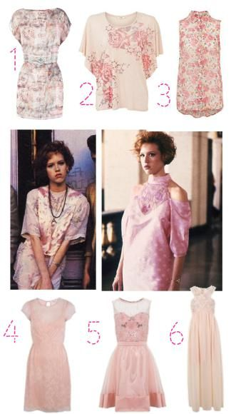 get molly ringwald 80s pretty in pink fashion look prom dress 2013 ...
