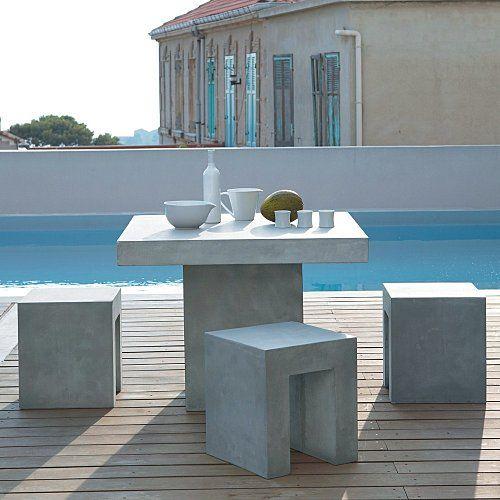 ideas mobiliario ideas terraza buena decoracion terraza pequea ideas modernas yacuzzi casita muebles cemento djate sorprender hormign concrete