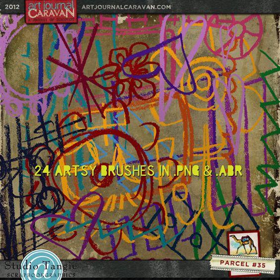 Art Journal Caravan 2012 {Parcel 35}