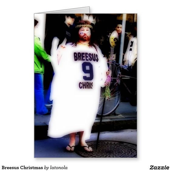 Breesus Christmas Stationery Note Card
