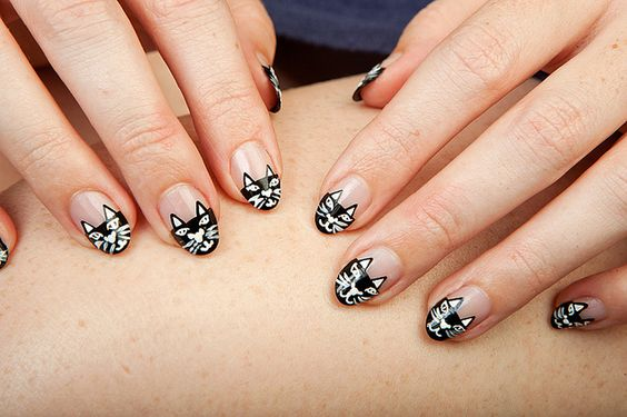 Charlotte Olympia Kitty-Inspired Nails