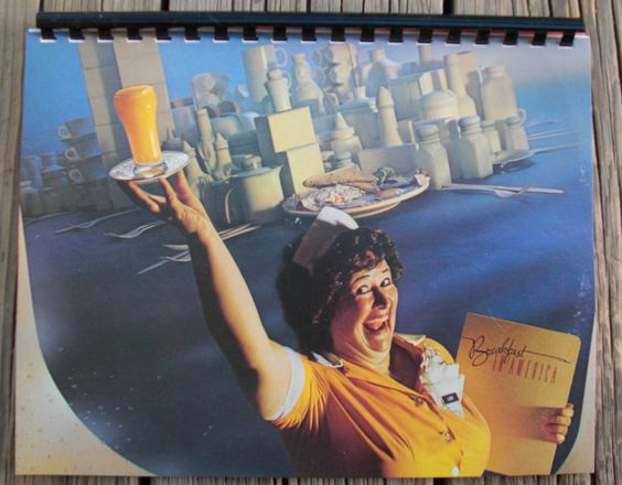 Vintage 1970s Supertramp Breakfast In America Record Album