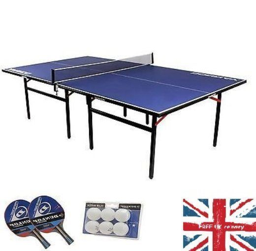Ping Pong Table Set Indoor Tennis Folding Full Size Play Bats Balls Net Game Fun Ping Pong Table Indoor Tennis Net Games