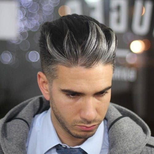 23 Best Men S Hair Highlights 2020 Styles Men Hair Highlights Black Hair With Highlights Mens Hair Colour