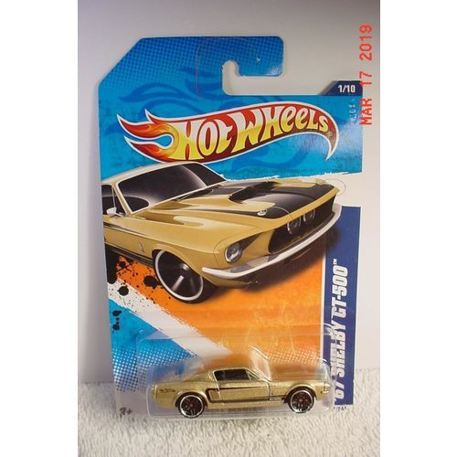1967 Ford Mustang Shelby Gt500 Gold Met 1 64 101 2011 Hot Wheels Bp Ford Mustang Shelby Gt500 Ford Mustang Shelby Hot Wheels