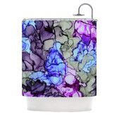 Found it at Wayfair - String Theory Shower Curtain