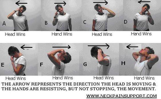 Neck Exercises Neck Stretches Neck Strengthening