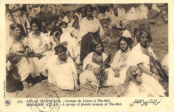Atlas Marocain - juives à Tin-Mel