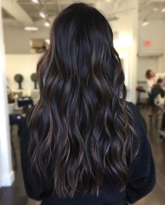 Subtle Brunette Bayalage With Images Balayage Hair Brunette Hair Color Hair Color Ideas For Brunettes Balayage