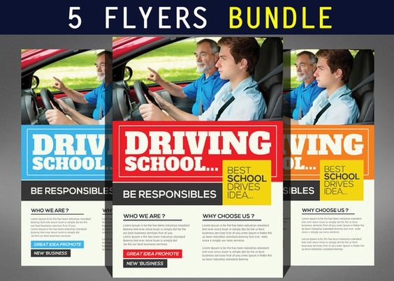 Junior School Education Flyers by Business Templates on Creative - Seminar Flyer