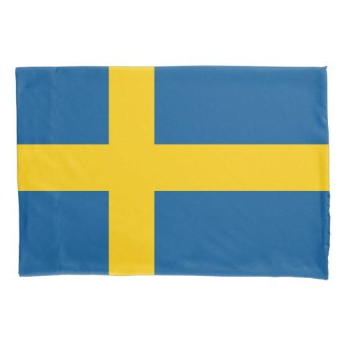 Swedish Flag Pillowcase Sleeve For Sweden Pride Swedish Flag Sweden Flag Flag