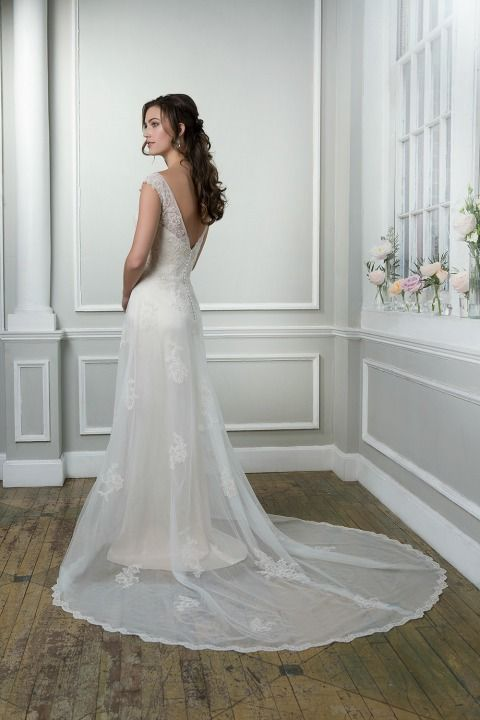 #WeddingDress by Lillian West | Love the detailed back | Find your nearest stockist today at Confetti.co.uk