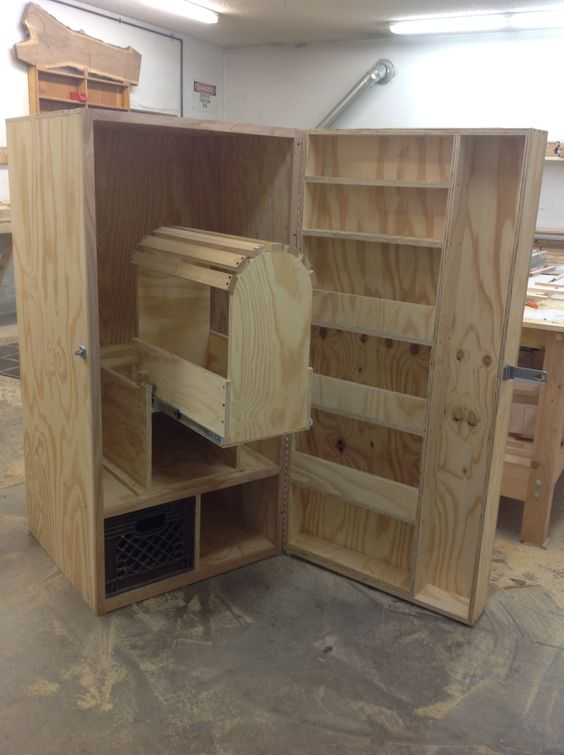 Build your own tack trunk ya know for that day for Tack cabinet plans
