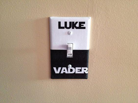 Sympa cet interrupteur Star Wars #geek