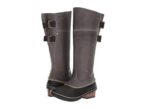Womens waterproof boots, Sorel slimpack