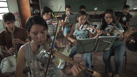 Landfill Harmonic, Orquesta de Instrumentos Reciclados—   The Recycled Orchestra.