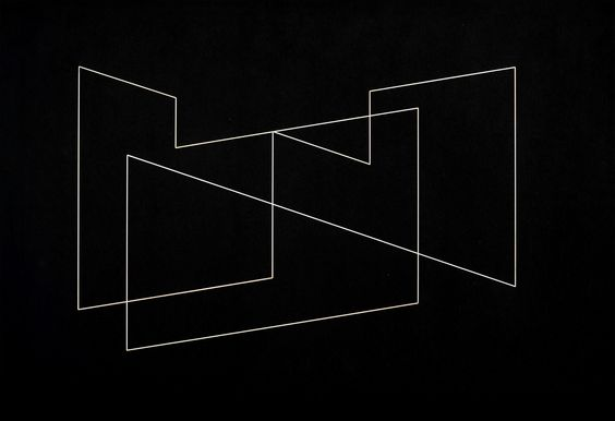 Josef Albers, Structural Indication, 1948