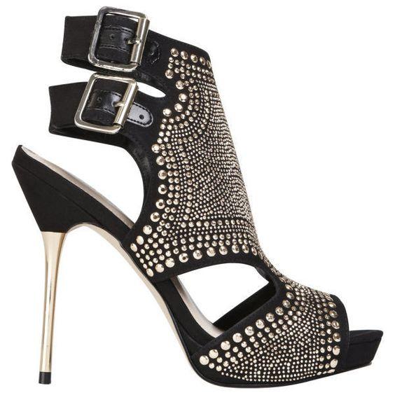 Carvela Women's Gyrate Suedette Heeled Sandals
