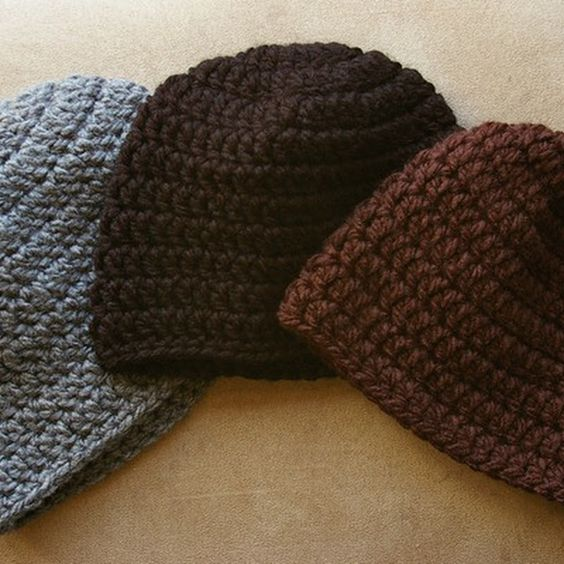 Easy Crochet Winter Hat Patterns : Free pattern, Easy peasy and Womens winter hats on Pinterest