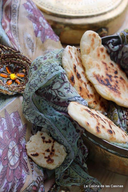 La Cocina de las Casinas: Pan Naan: Bake The World