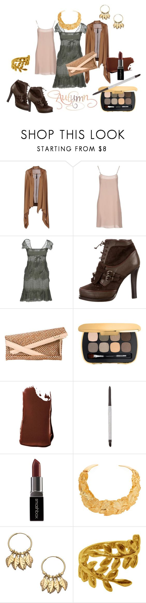 """Here Comes Autumn '16"" by clothingcollector1 ❤ liked on Polyvore featuring Manila Grace, Schumacher, Ermanno by Ermanno Scervino, Tabitha Simmons, Zanellato, Bare Escentuals, Smashbox, Neutrogena, Kenneth Jay Lane and Betty Carré"