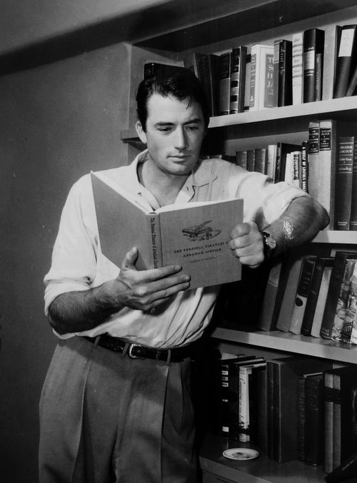 I picked the photos that look the most like my man. They say he looks like Gregory peck