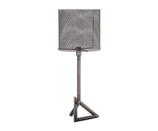 Lámpara de sobremesa en hierro - gris. Largo: 32 cm Alto: 81 cm Ancho: 32 cm 241€