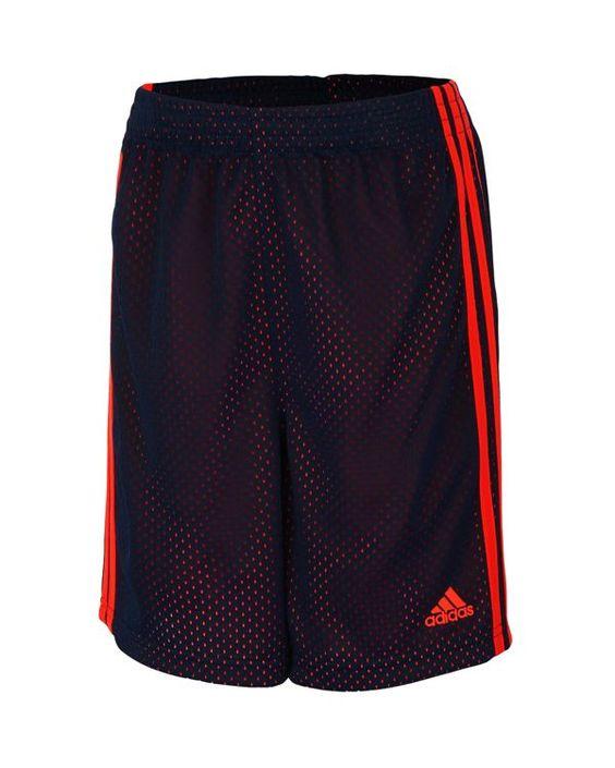 Adidas Boys' Mesh Impact Shorts - Sizes 4-7
