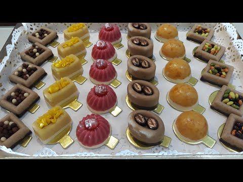 بدون فرن بدون تعب بعجين واحد 6اشكال من حلويات العيد2019 ستبهرك جديد حلويات اللوز بريستيج Youtube Ramadan Desserts Desserts Halva