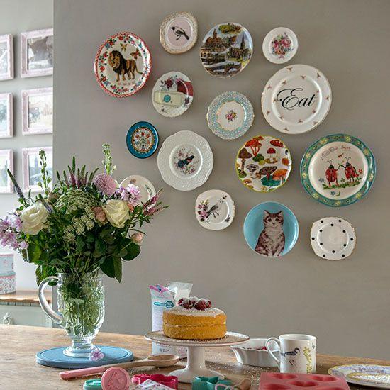 Pratos decorativos para parede.