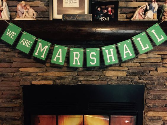 We Are Marshall Banner by PersonalizedPartyDec on Etsy