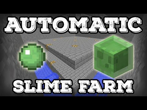 How To Make A Xp Farm In Minecraft Bedrock Minecraft Tutorial Automatic Slime Farm Minecraft 1 12 Youtube Minecraft Tutorial Slime Farm Minecraft 1