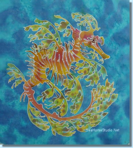 Leafy Sea Dragon Art | Leafy Sea Dragons My Favorite ...