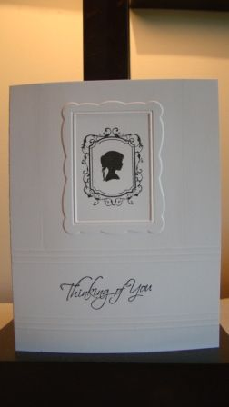 stampin up forever young...clean and simple and cute