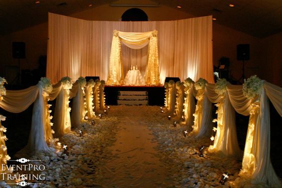 church wedding decoration pictures   Church Wedding and Country Club - Murfreesboro TN - white orchids and ...