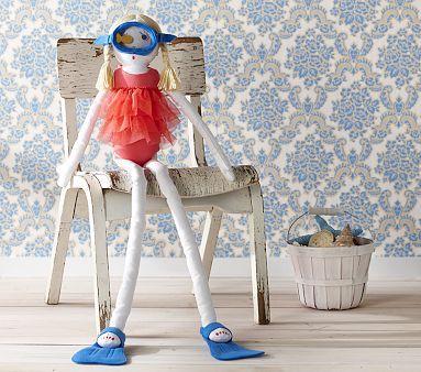 I love the Designer Doll Manina on potterybarnkids.com
