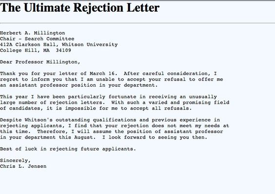 ... Ultimate Refusal Funnies Pinterest   Thank You Letter To Professor ...