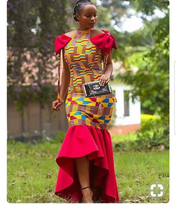 African women's clothing, african dress, dashiki , women's dashiki dress, women's African clothing. by AmbassadorialDesigns on Etsy