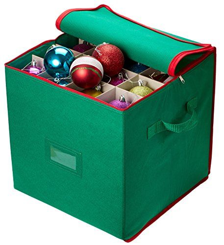 Christmas Ornament Storage - Stores up to 64 Holiday Orna