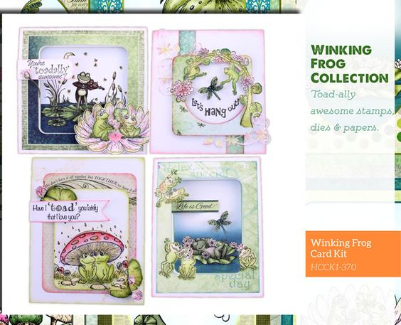 Winking Frog - Heartfelt Collections
