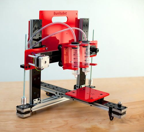 Burritobot: The Tortilla-Filling 3D Printer