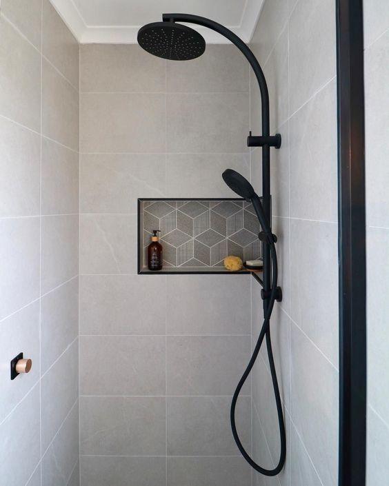 Shower Niche Shelf Shower Niche Hospital Interior Design Bathroom Inspiration