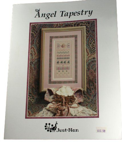 Just Nan Counted Cross Stitch Beaded Angel Tapestry Angel Taoestry. Just Nan.  #Book