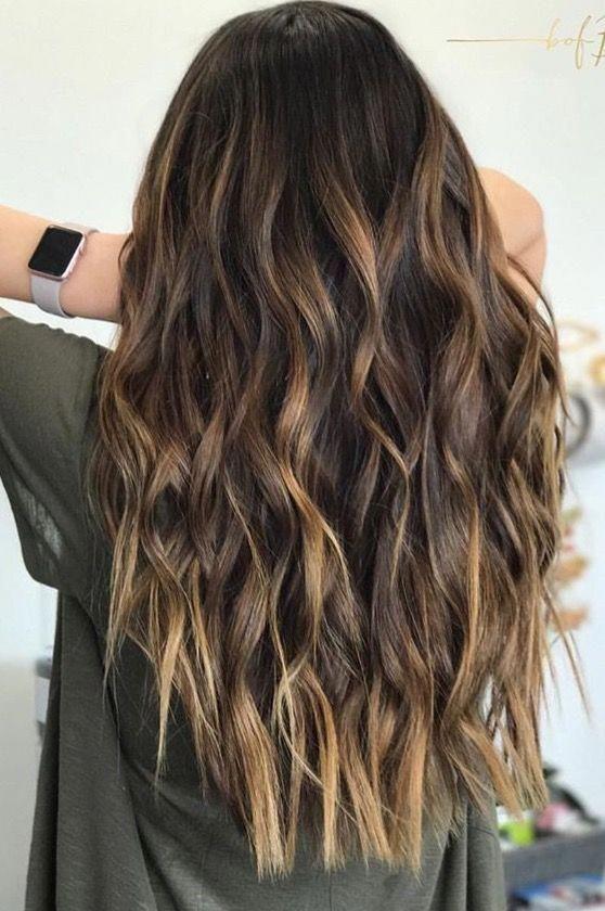 Hair Inspiration Z Nevaeh Salon Salon Knoxvilletn Znevaehsalon Haircutsforlo Balaya In 2020 Hair Waves Curly Hair Styles Loose Wavy Curls